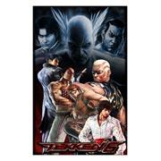 Неформатный постер по Tekken